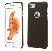 GSMWise Apple iPhone 7 - PU Lederen Bedekt PC Back Case - Bruin