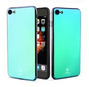 GSMWise Apple iPhone 7 / 8 - Geleidelijke Verandering PC Back Case - Paars / Blauw
