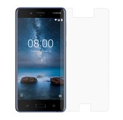 GSMWise Nokia 8 - Krasbestendige Glazen Screenrpotector - Transparant