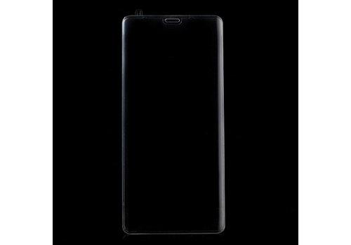 Samsung Galaxy Note 8 - Volledige dekkende Krasbestendige Glazen Screenprotector - Transparant