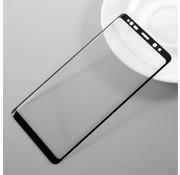 GSMWise Samsung Galaxy Note 8 - Volledige dekkende Krasbestendige Glazen Screenprotector - Zwart