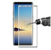 GSMWise Samsung Galaxy Note 8 - Volledige dekkende Tempered Glazen Screenprotector - Zilver