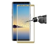GSMWise Samsung Galaxy Note 8 - Volledige dekkende Tempered Glazen Screenprotector - Goud