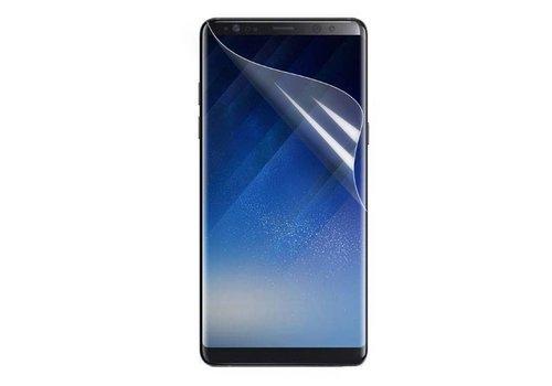 Samsung Galaxy Note 8 - Volledige dekkende Zachte Tempered Glazen Screenprotector - Transparant