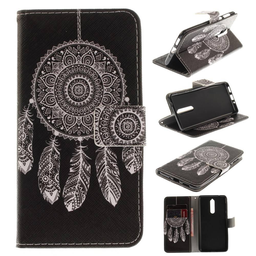 Witte Leren Portemonnee.Gsmwise Nokia 8 Pu Lederen Portemonnee Case Met Kaarthouder