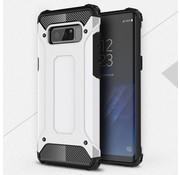GSMWise Samsung Galaxy Note 8 - Stevig Hybrid Beschermhoesje Back Case Shockproof - Wit