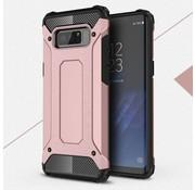 GSMWise Samsung Galaxy Note 8 - Stevig Hybrid Beschermhoesje Back Case Shockproof - Rose / Goud