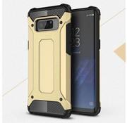 GSMWise Samsung Galaxy Note 8 - Stevig Hybrid Beschermhoesje Back Case Shockproof - Goud