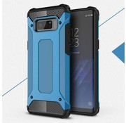 GSMWise Samsung Galaxy Note 8 - Stevig Hybrid Beschermhoesje Back Case Shockproof - Licht Blauw