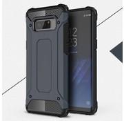 GSMWise Samsung Galaxy Note 8 - Stevig Hybrid Beschermhoesje Back Case Shockproof - Donker Blauw