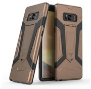 GSMWise Samsung Galaxy Note 8 - Stevig Backcover Hybride Beschermhoesje Met Stand - Brons