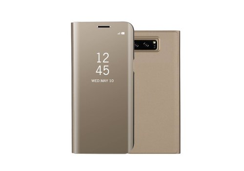 Samsung Galaxy Note 8 - Doorzichtige Window View Case - Goud