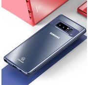 GSMWise Samsung Galaxy Note 8 - Matte Ultra Dunne PC back Case Met TPU Randen - Blauw