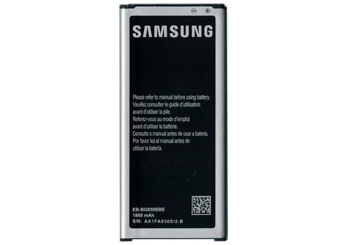 Originele Samsung Galaxy Alpha Batterij EB-BG850BBE 1860 mAh