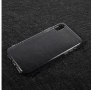 GSMWise Apple iPhone X - Transparante TPU Back Case - Grijs