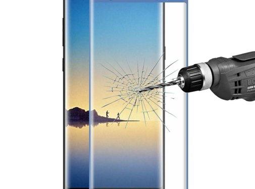 GSMWise Samsung Galaxy Note 8 - Volledige dekkende Tempered Glazen Screenprotector - Blauw