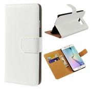GSMWise Samsung Galaxy S6 Hoesje - Wallet Case Business - Wit