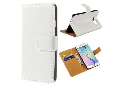Samsung Galaxy S6 Hoesje - Wallet Case Business - Wit