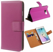 GSMWise Samsung Galaxy S6 Hoesje - Wallet Case Business - Hot Pink