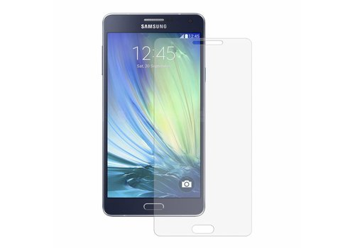 Galaxy A7 Krasbestendige Glazen Screen Protector