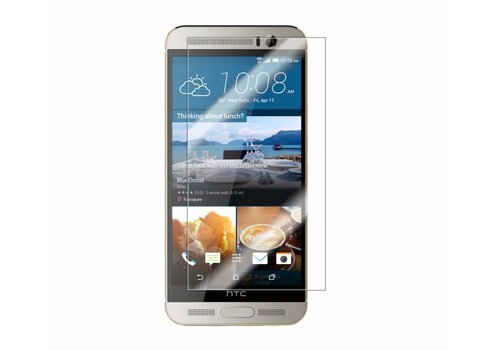 HTC One M9 Plus Krasbestendige Glazen Screen Protector