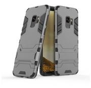 GSMWise Samsung Galaxy S9 - Ultra Hybride Hard Case met standaard - Grijs