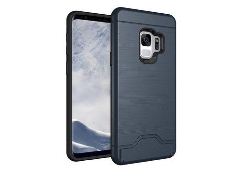 Samsung Galaxy S9 - Stevig Beschermhoesje Hardcase Backcover Shockproof - Blauw