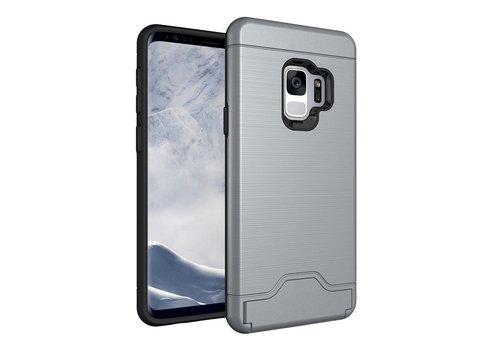 Samsung Galaxy S9 - Stevig Beschermhoesje Hardcase Backcover Shockproof - Grijs