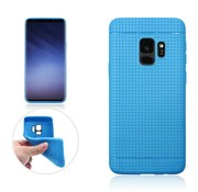 GSMWise Samsung Galaxy S9 - Rubberen TPU Back Case Cover - Blauw