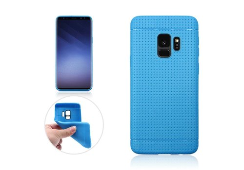 Samsung Galaxy S9 - Rubberen TPU Back Case Cover - Blauw