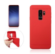 GSMWise Samsung Galaxy S9 - Rubberen TPU Back Case Cover - Rood