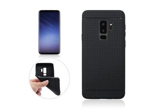 Samsung Galaxy S9 - Rubberen TPU Back Case Cover - Zwart