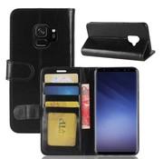 GSMWise Samsung Galaxy S9 - PU Lederen Portemonnee Case - Zwart