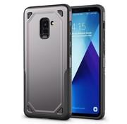 GSMWise Samsung Galaxy A8 (2018) - Stevig Backcover Beschermhoesje - Grijs