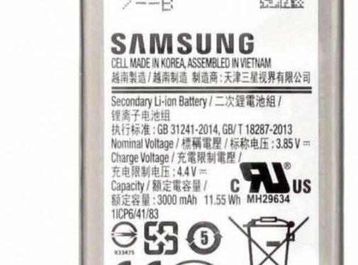 Samsung Originele Samsung Galaxy S8 3000 mAh EB-BG950ABE Batterij