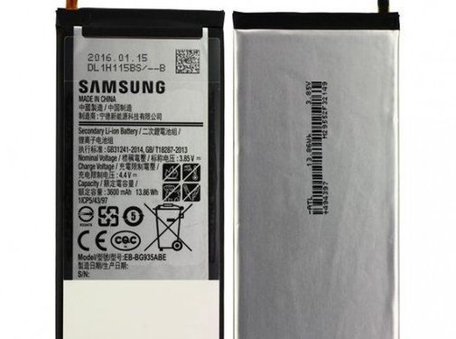 Samsung Originele Samsung Galaxy S7 Edge Batterij EB-BG935ABE 3600 mAh