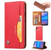 GSMWise Huawei P20 Lite - PU lederen Portemonnee hoesje - Rood