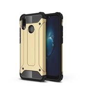 GSMWise Huawei P20 Lite - Stevig Hybrid Beschermhoesje Back Case Shockproof - Goud