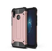 GSMWise Huawei P20 Lite - Stevig Hybrid Beschermhoesje Back Case Shockproof - Rose Goud