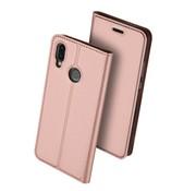 GSMWise Huawei P20 Lite - PU Lederen Bookcase Hoesje met Pashouder - Rose Goud