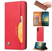 GSMWise Huawei P20 - PU lederen Portemonnee hoesje - Rood