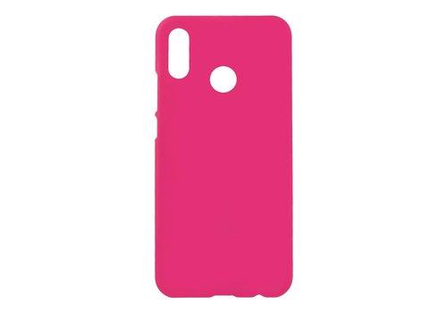 Huawei P20 Lite - Rubberen TPU Backcase Cover - Hot Pink