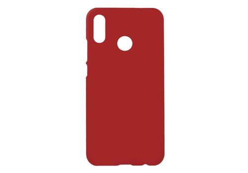 Huawei P20 Lite - Rubberen TPU Backcase Cover - Rood