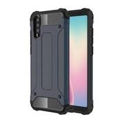 GSMWise Huawei P20 - Stevig Hybrid Beschermhoesje Back Case Shockproof - Donker Blauw