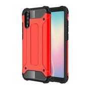 GSMWise Huawei P20 - Stevig Hybrid Beschermhoesje Back Case Shockproof - Rood