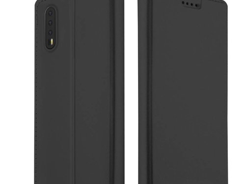 GSMWise Huawei P20 - PU Lederen Hoesje Backcase met Pashouder - Zwart