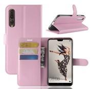 GSMWise Huawei P20 Pro - Lychee PU Lederen Portemonnee Case - Roze