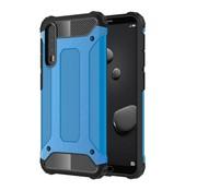 GSMWise Huawei P20 Pro - Stevig Hybrid Beschermhoesje Back Case Shockproof - Baby Blauw