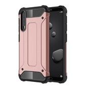 GSMWise Huawei P20 Pro - Stevig Hybrid Beschermhoesje Back Case Shockproof - Rose Goud