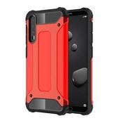 GSMWise Huawei P20 Pro - Stevig Hybrid Beschermhoesje Back Case Shockproof - Rood